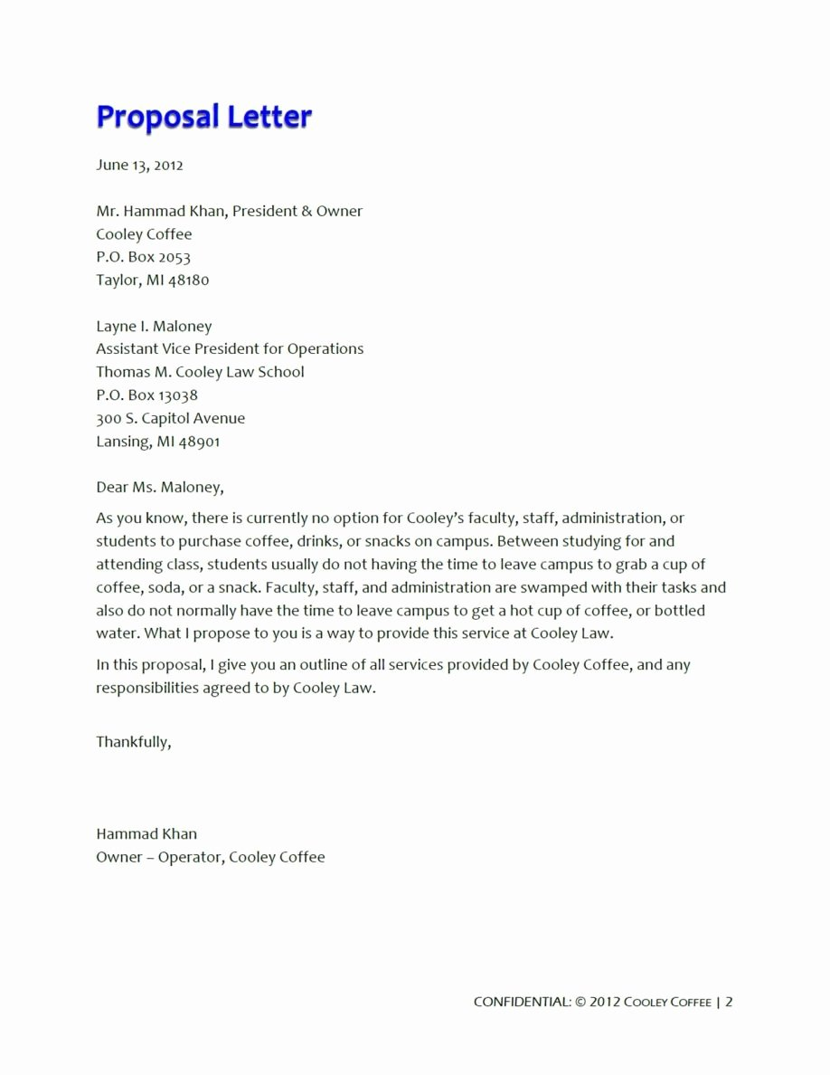 Free Proposal Templates for Word Unique Free Business Proposal Template Word Letter Examples Doc