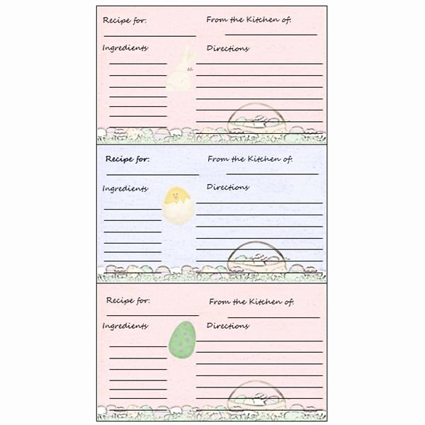 Free Recipe Templates for Microsoft Word Elegant Yummy 5 Free Printable Recipe Card Templates for