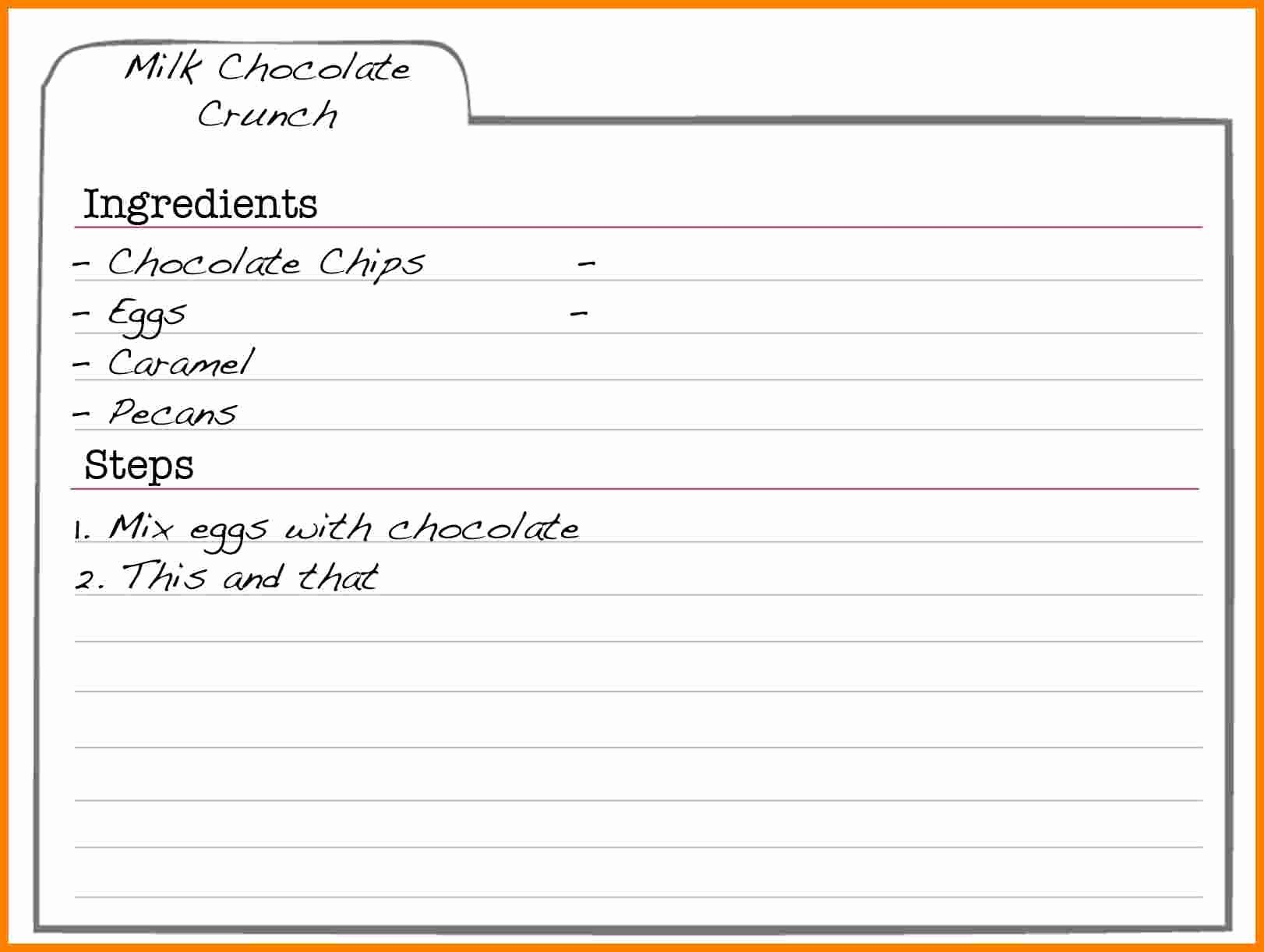 Free Recipe Templates for Microsoft Word New 5 Free Editable Recipe Card Templates for Microsoft Word