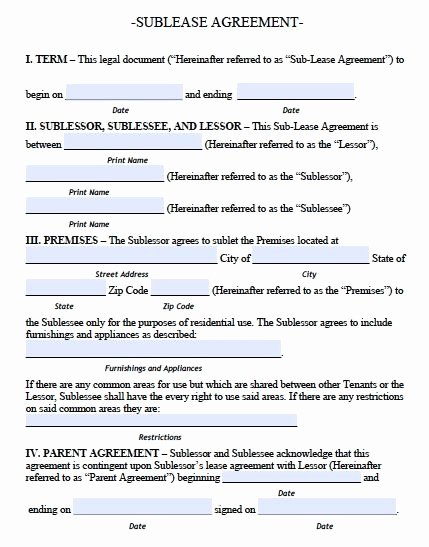 Free Roommate Agreement Template Best Of Printable Sample Roommate Agreement Template form