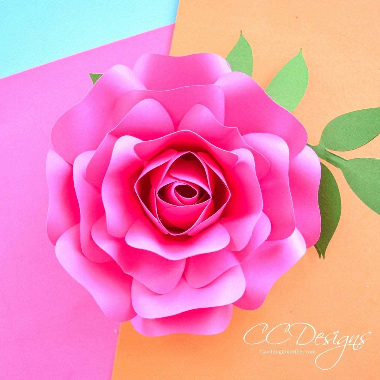Free Rose Paper Flower Template Beautiful Mini Alora Rose Small Paper Flower Rose Template