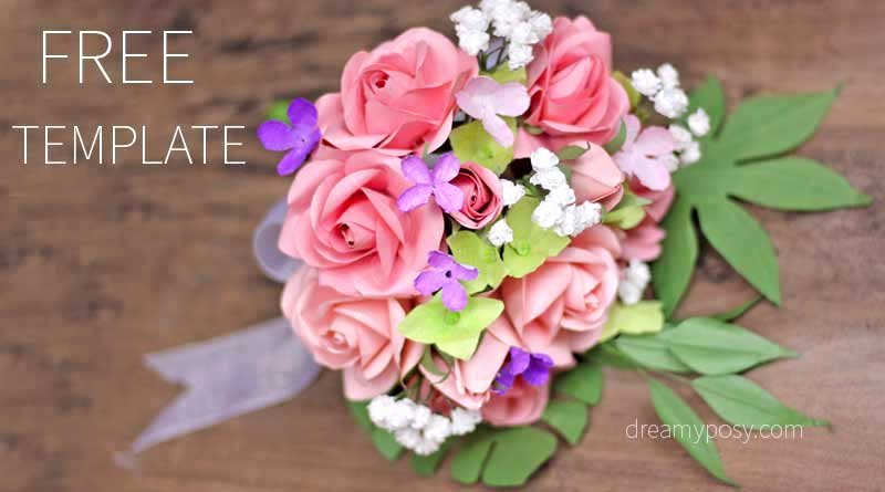 Free Rose Paper Flower Template Luxury Easy Tutorial to Make A Paper Rose Free Template