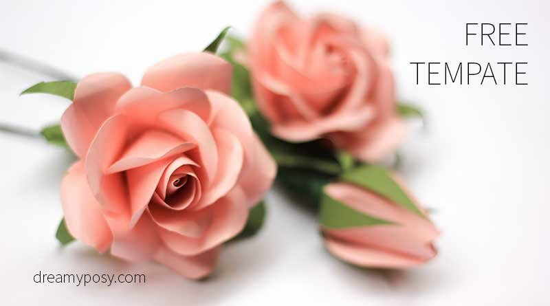 Free Rose Paper Flower Template Unique Free Paper Flowers Tutorials How to Make Paper Flowers
