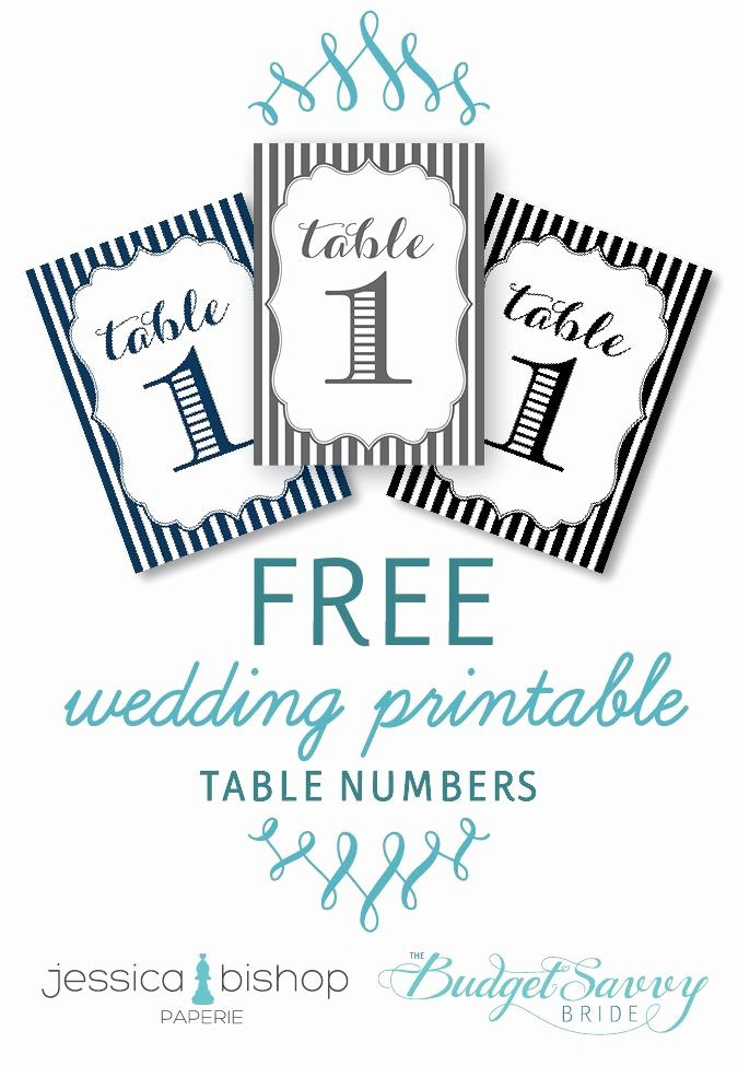 Free Table Number Templates 4x6 Awesome Free Printable Wedding Reception Templates