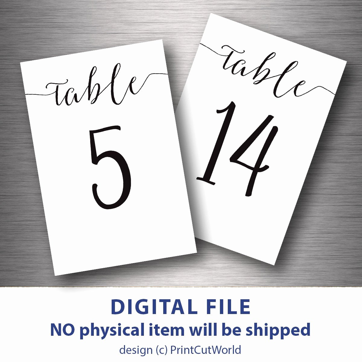 Free Table Number Templates 4x6 Beautiful Table Numbers Printable 4x6 Classic Wedding Table Number 1 30