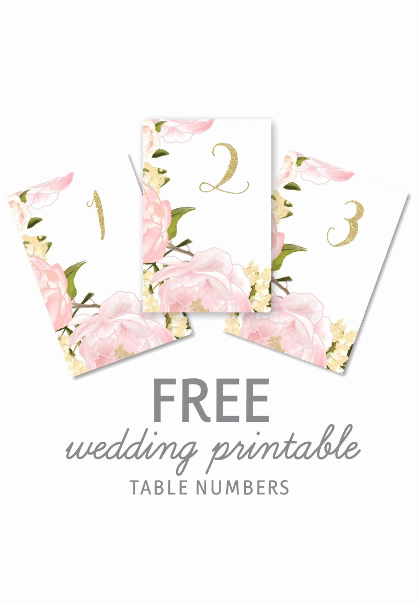 Free Table Number Templates 4x6 Best Of Wedding Table Numbers Template Free N Wall Decal