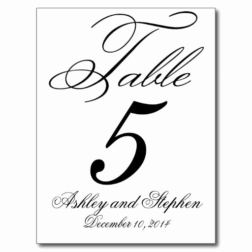 Free Table Number Templates 4x6 Luxury Free Table Number Templates 4x6 Wow Image Results