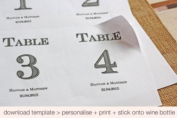 Free Table Number Templates 4x6 New Free Printable Custom Wedding Table Number Templates