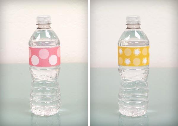 Free Water Bottle Label Template Baby Shower Beautiful Bump Smitten Diy Shower Water Bottle Labels Free Download