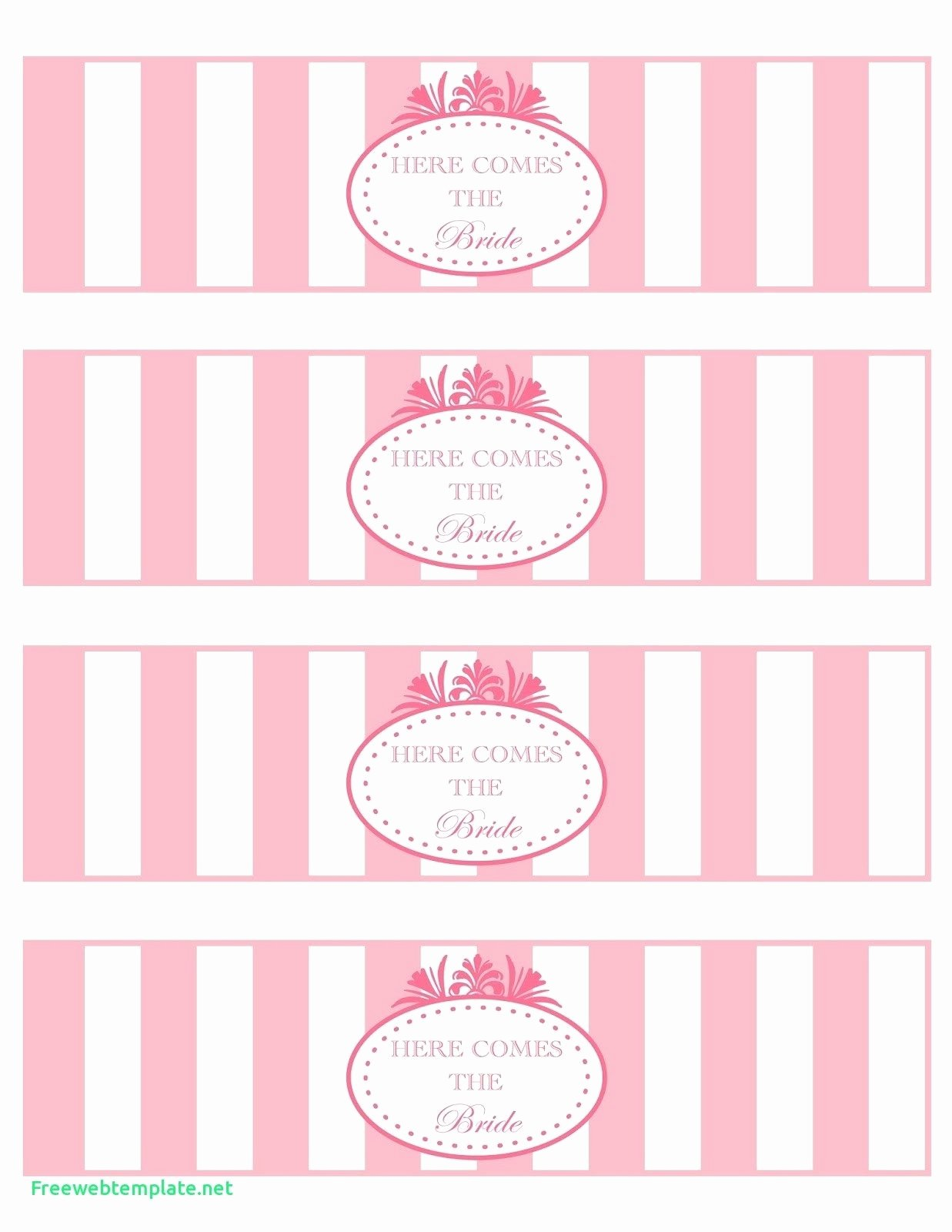 Free Water Bottle Label Template Baby Shower Fresh Printable Water Bottle Labels Free Templates