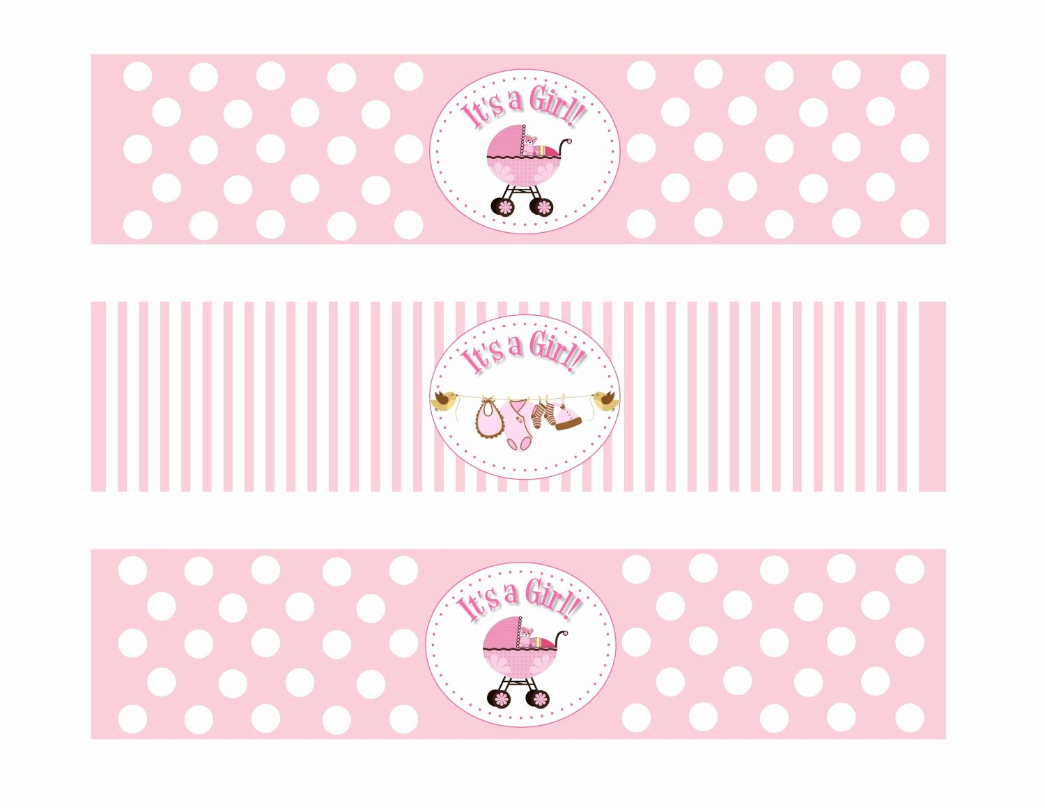 Free Water Bottle Label Template Baby Shower New Baby Shower Water Bottle Labels