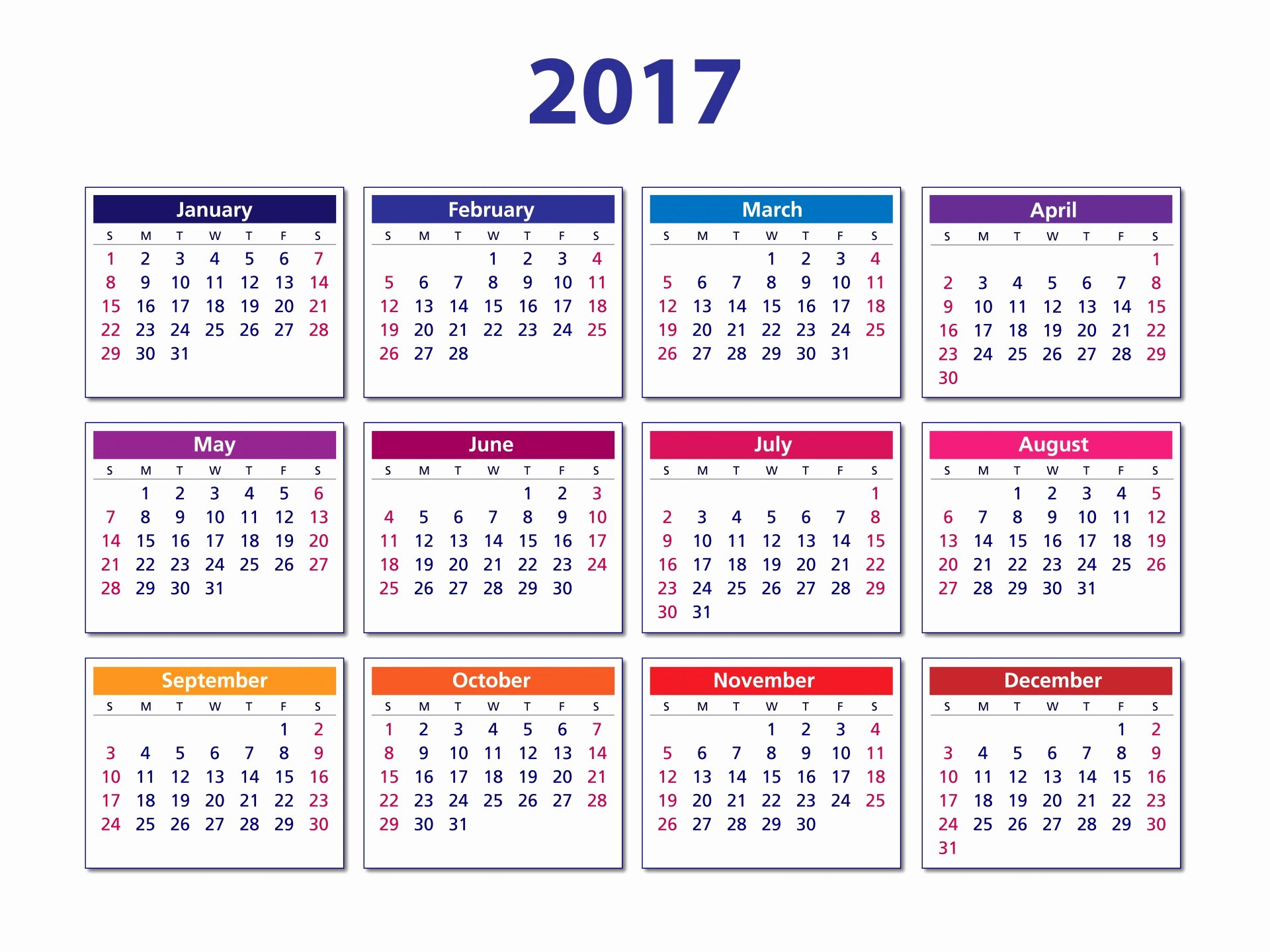 Free Yearly Calendar 2017 Awesome 2017 Calendar Free Stock Public Domain
