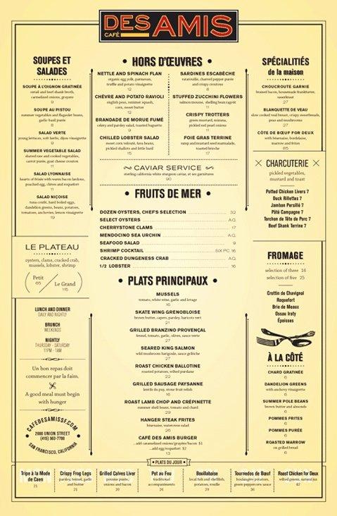 French Menu Design Luxury Best 25 French Restaurant Menu Ideas On Pinterest