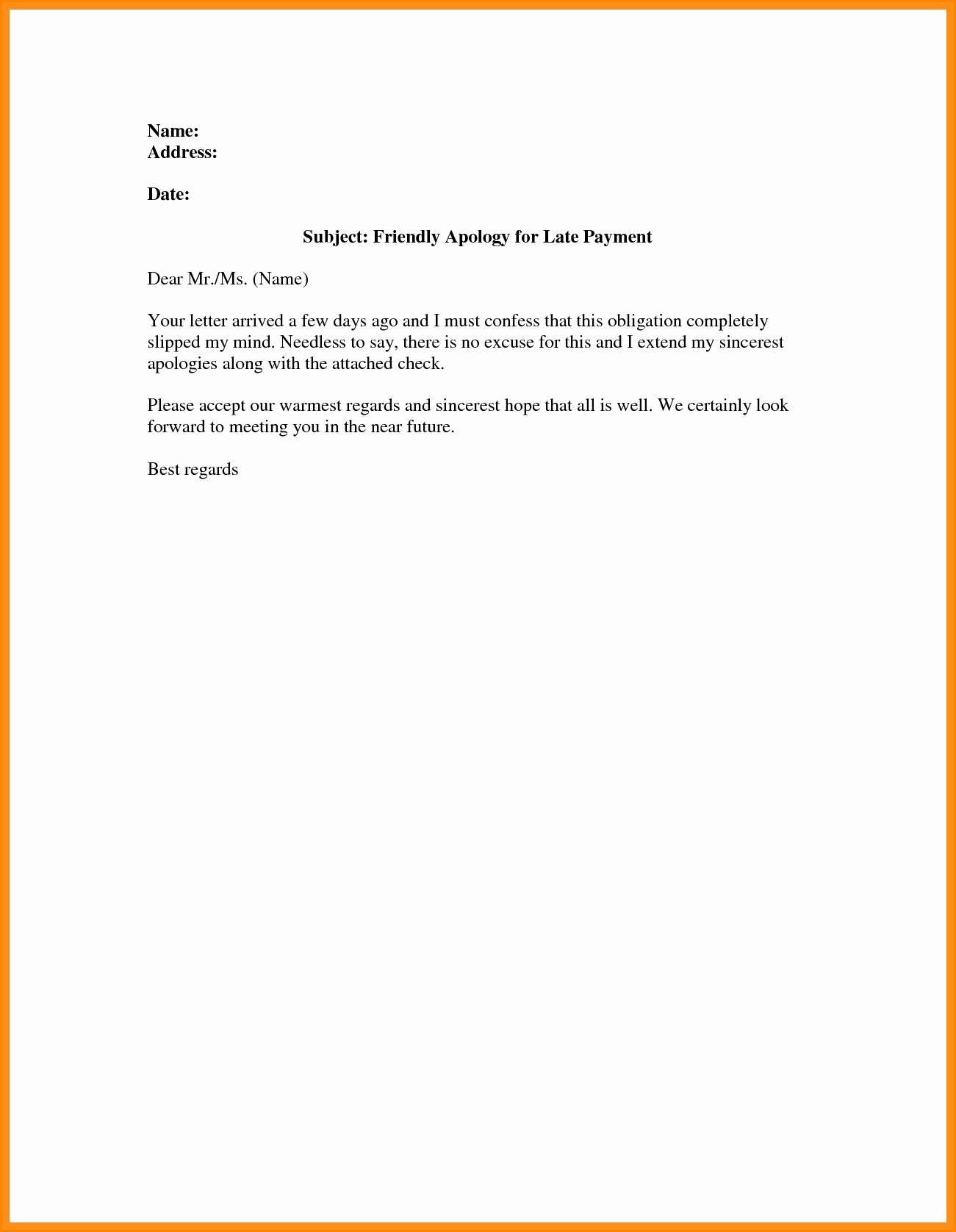 Friendly Payment Reminder Letter Samples Luxury 9 Friendly Payment Reminder Letter