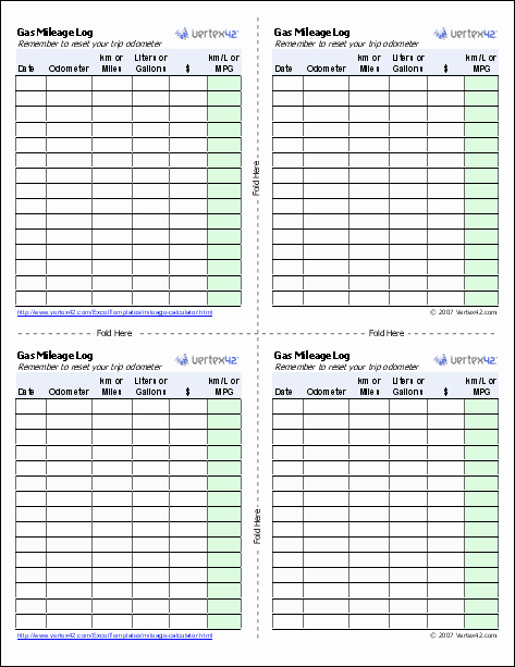 Fuel Log Book Template Excel Best Of Gas Mileage Log and Mileage Calculator for Excel
