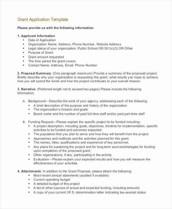 Fund Request form Template Beautiful Grant Application Templates 6 Free Word Pdf Download