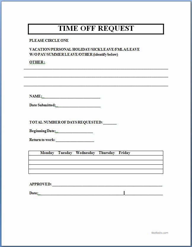 Fund Request form Template Best Of Time F Request form Template Microsoft