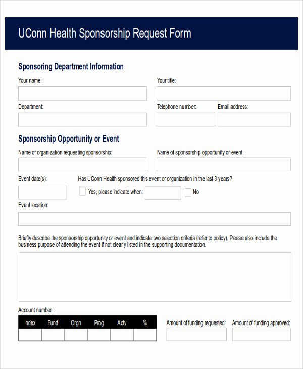 Fund Request form Template Luxury Sample Funding Request form 10 Examples In Word Pdf