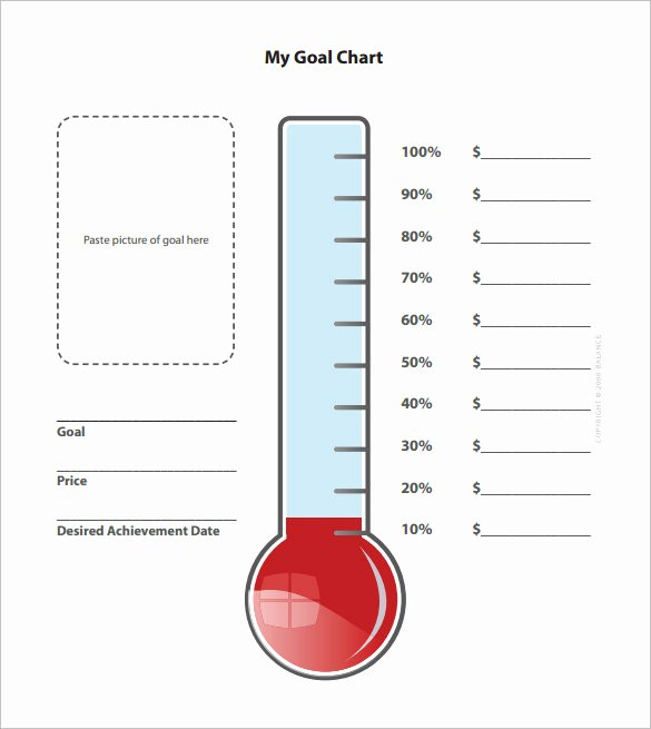 Fundraising thermometer Excel Elegant How to Make A thermometer Azerty Korting