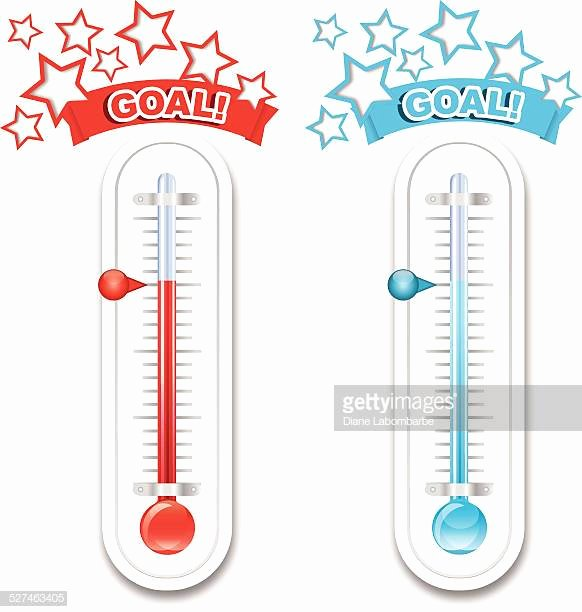 Fundraising thermometer Image Elegant top thermometer Stock Illustrations Clip Art Cartoons