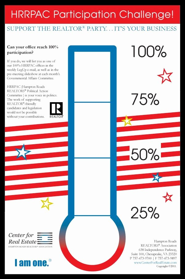 Fundraising thermometer Template Editable Elegant Fundraising Poster for Hrrpac by Kim Breeding Via Behance