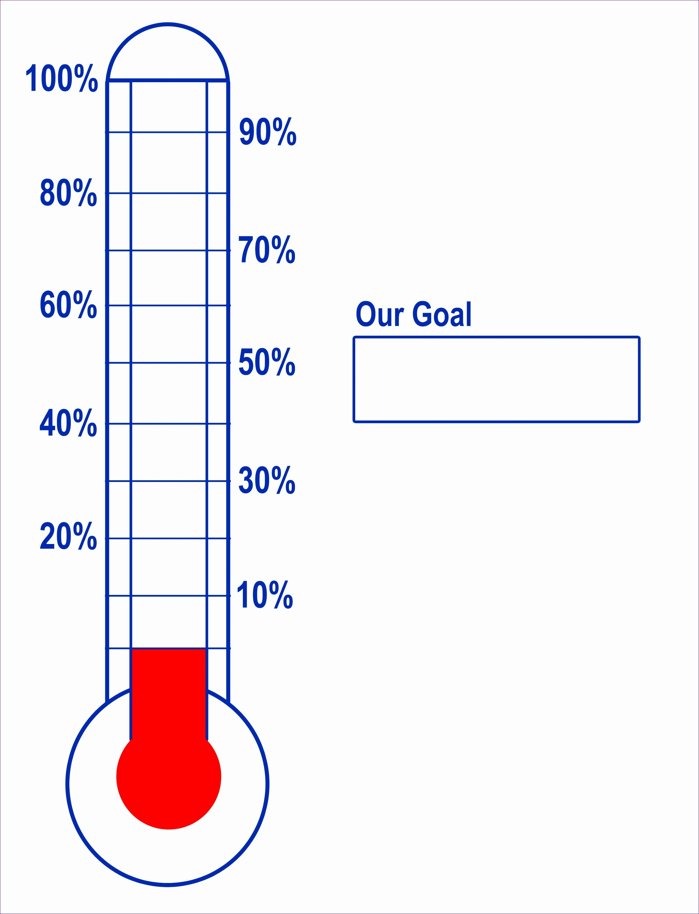 Fundraising thermometer Template Excel Best Of 9 Fundraising thermometer Template Excel Exceltemplates