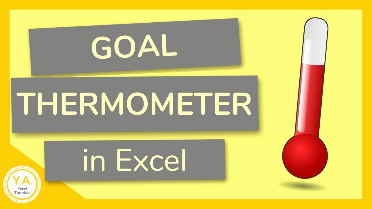 Fundraising thermometer Template Excel Best Of How to Make A Goal thermometer In Excel Tutorial 🌡️