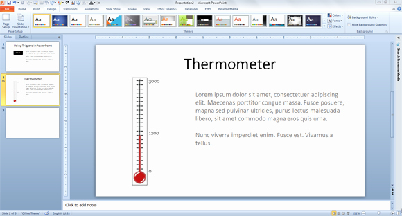 Fundraising thermometer Template Powerpoint Beautiful How to Make A Fundraising thermometer for Powerpoint