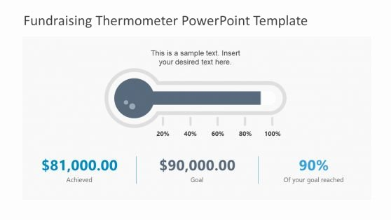 Fundraising thermometer Template Powerpoint Best Of Charity Powerpoint Templates