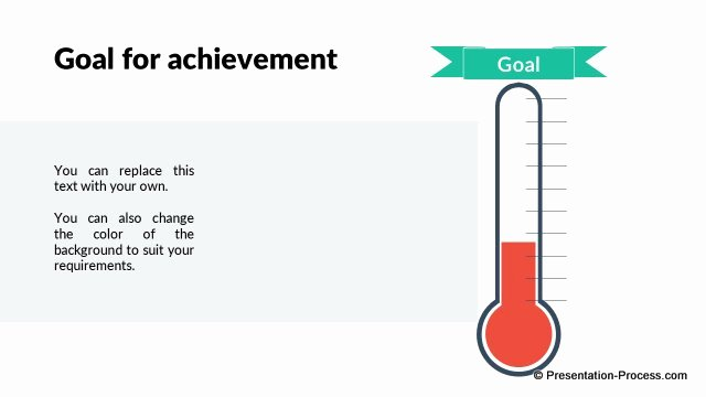 Fundraising thermometer Template Powerpoint Lovely Flat Design Templates Powerpoint Opening Slides