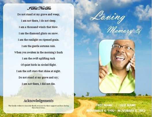 Funeral Memorial Card Template Best Of 73 Best Images About Printable Funeral Program Templates