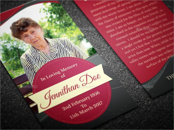 Funeral Prayer Cards Templates Elegant Funeral Prayer Card Template 21 Psd Ai Eps format