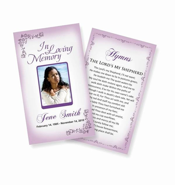 Funeral Prayer Cards Templates Fresh 10 Best Prayer Cards and Templates Images On Pinterest