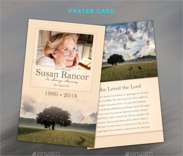 Funeral Prayer Cards Templates Fresh 8 Prayer Card Templates Psd Ai Eps