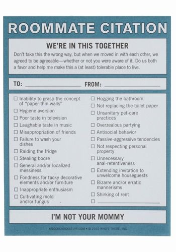 Funny Roommate Agreement Inspirational 25 Best Ideas About Roommate Agreement On Pinterest