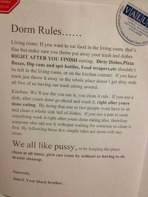 Funny Roommate Agreement Inspirational Funny Roommate