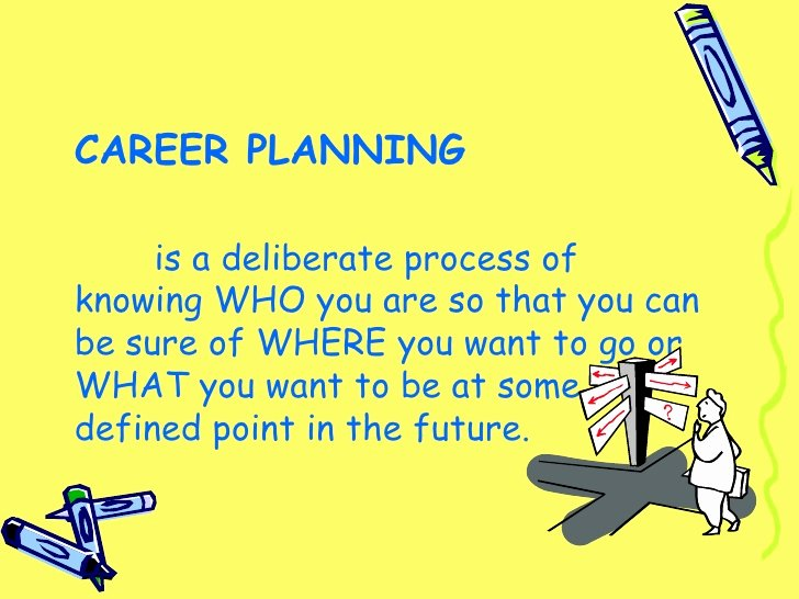 Future Career Plan Example Awesome Career Planning Presentation