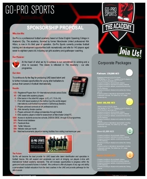 Gag order Sample Best Of Football Club Sponsorship Proposal Template – Syncla