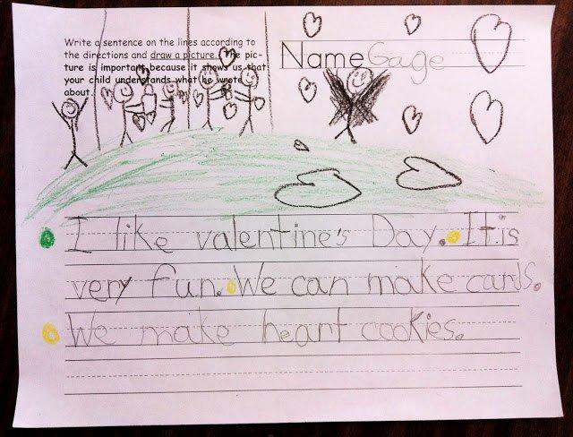 Gag order Sample Lovely Teaching Kindergartners to Write Paragraphs