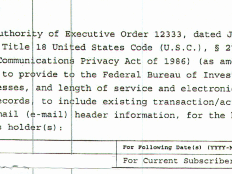 Gag order Sample Unique Fbi withdrew National Security Letter after Cloudflare