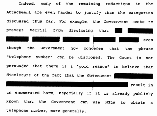 Gag order Sample Unique Federal Court Finally Says that Gag order 11 Year Old