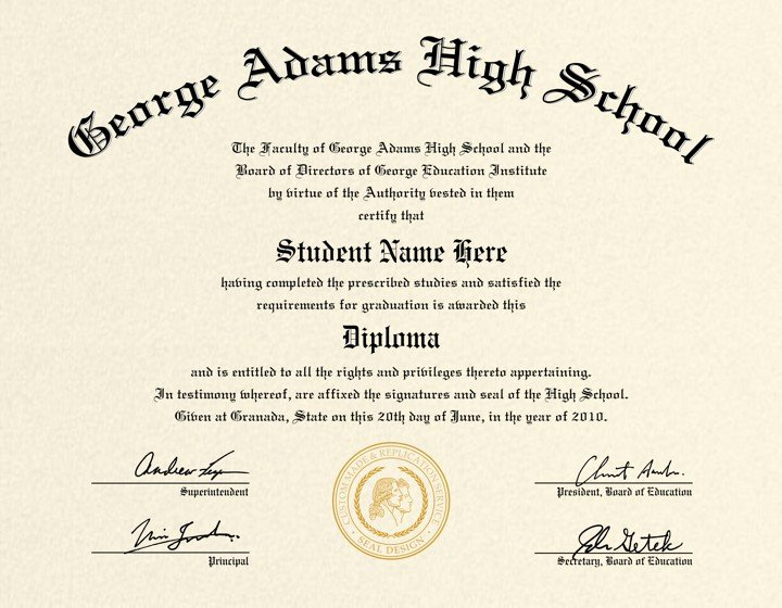 Ged Certificate Template Download Awesome High School Diploma Template Printable Certificate