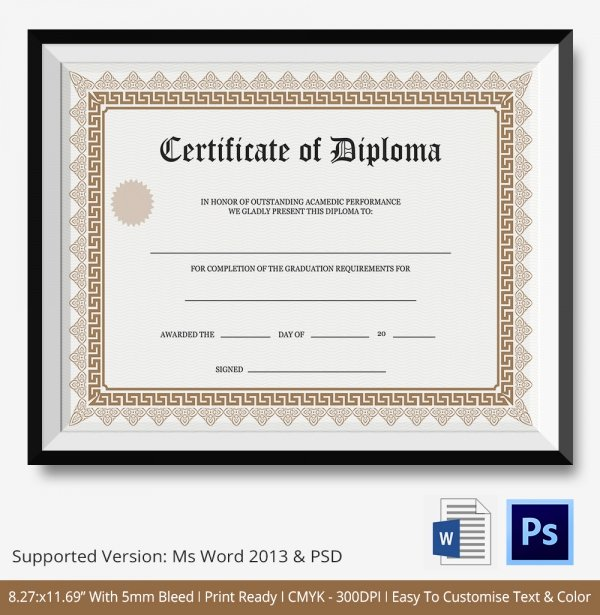 Ged Certificate Template Download Beautiful Ged Certificate Template Download