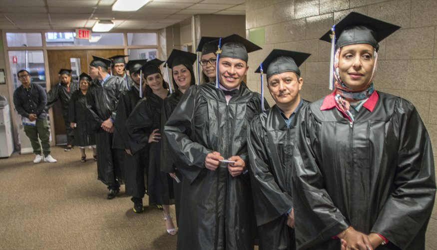 Ged Graduation Speech Examples Lovely Hiset Graduates Celebrate Pleting Program