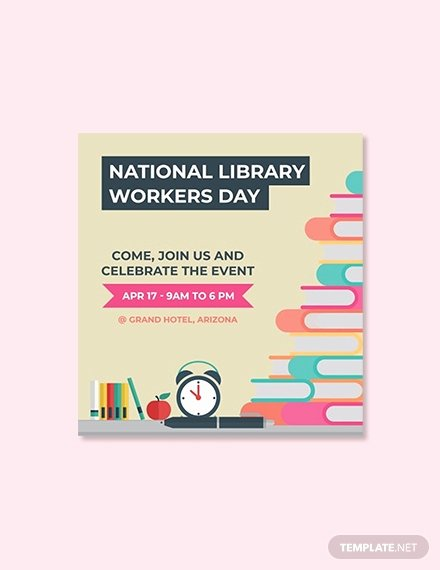Geofilter Template Free Awesome 28 Free National Library Worker S Day Templates [download