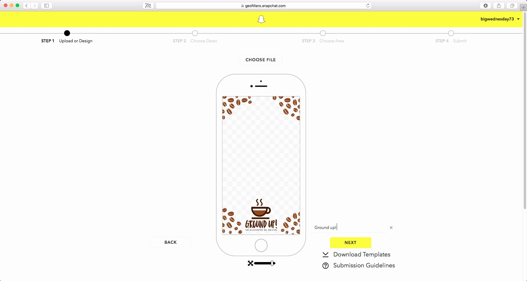 Geofilter Template Free Beautiful How to Create A Snapchat Geofilter In Shop