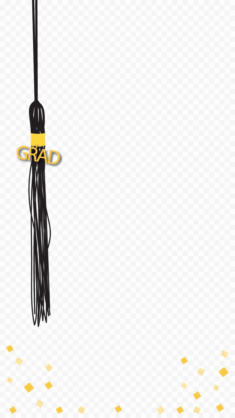 Geofilter Template Free Luxury Graduation Ceremony Party Wedding Tassel Graduation Png