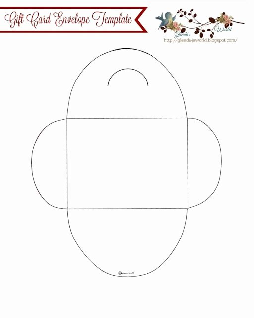 Gift Card Envelope Templates Luxury Best 25 Gift Card Template Ideas On Pinterest
