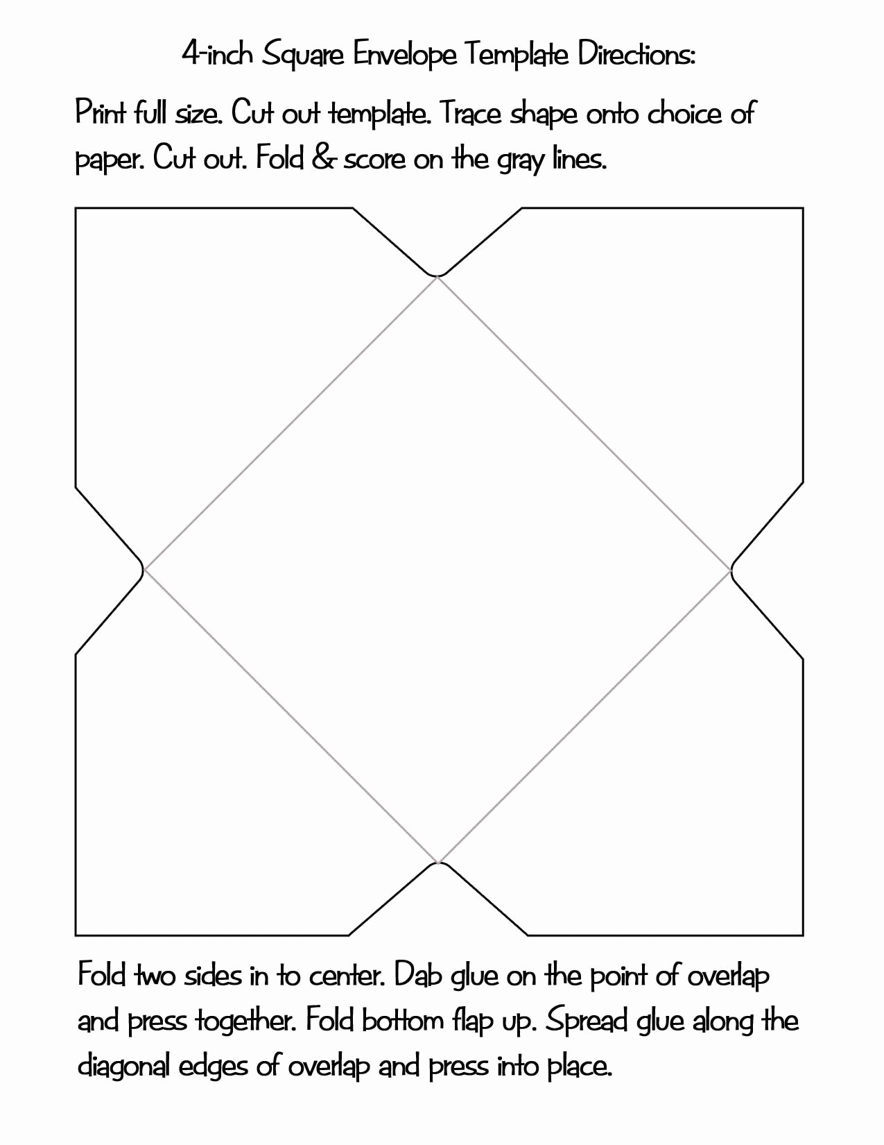 Gift Card Envelope Templates Unique Gift Ideas for Grownups Easy & Inexpensive the Artful