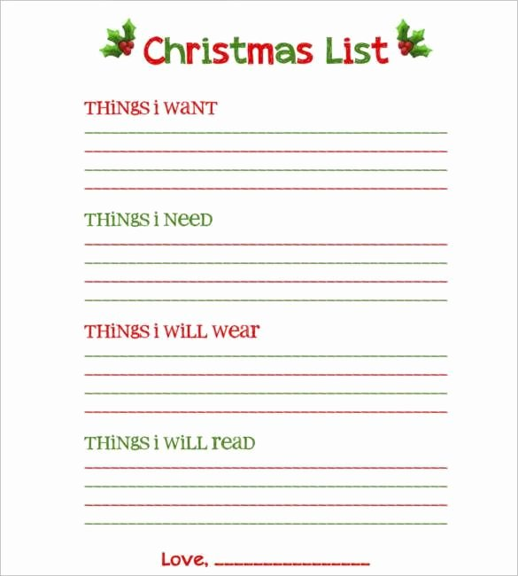 Gift Exchange Wish List Template Best Of Pin by Lisa Fears On Holidays